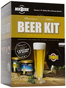 Mr. Beer Premium Gold Edition Beer Kit - Groomsmen Gift