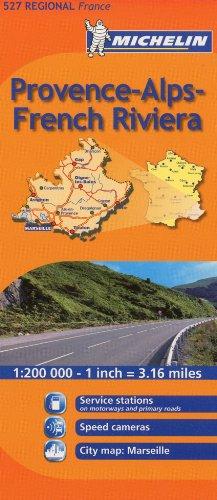 Michelin Provence-Alpes-French Riviera, France (Michelin Maps)