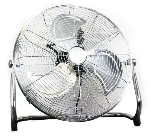 Quality Prem-I-Air 18 inch Hi-Velocity Chrome Floor Fan Black Friday & Cyber Monday 2014
