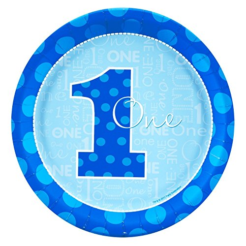 Everything One Boy Dinner Plates (8) by BirthdayExpress