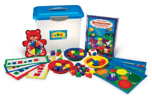 Learning Resources Three Bear Family (Sort,Pattern,Play Activity Set)