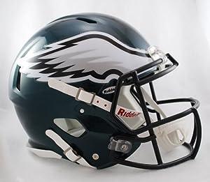 Philadelphia Eagles Riddell Speed Revolution Full Size Authentic Proline Football... by Hall of Fame Memorabilia