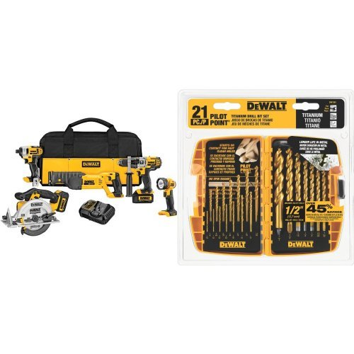 DEWALT-DCK592L2-20V-MAX-Premium-5-Tool-Combo-Kit