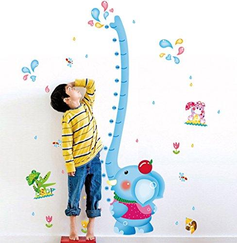 ufengker-belle-elephant-eau-de-pulverisation-toise-stickers-muraux-la-chambre-des-enfants-pepiniere-