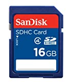 SanDisk 16 GB Class 4 SDHC Flash Memory Card SDSDB-016G-AFFP