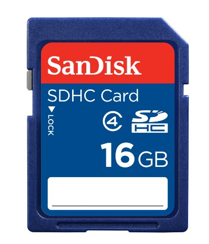 Best Deals! SanDisk 16 GB Class 4 SDHC Flash Memory Card SDSDB-016G-AFFP