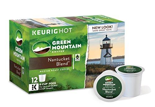 Green Mountain Coffee Nantucket Blend, Keurig K-Cups, 72 Count (Packaging May Vary) (Keurig K Cups Medium Roast compare prices)