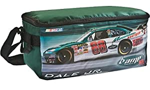 NASCAR Dale Jr #88 National Guard Amp Energy 10-Can Cooler Bag- Green 12Pc Pack by A.D. Sutton