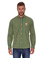 Polo Club Camisa Fitted (Verde)