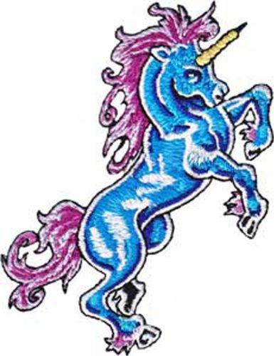 Application Unicorn Blue Patch
