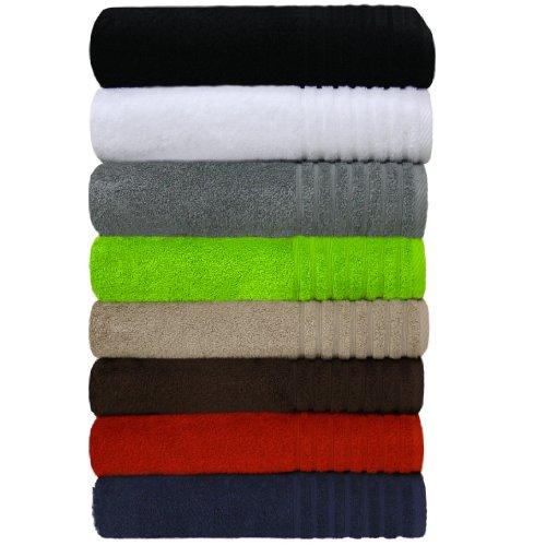 """Waschhandschuh """"sinlook - Gallant"""", Qualität 565 g/m², Farbe rot, Größe 16 x 21 cm, 100 % Baumwolle, Frottee Qualität (in verschiedenen Farben beige, blau, braun, creme, grau, grün, petrol, rot, schwarz und weiss erhältlich)"""