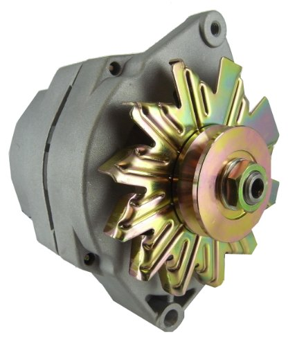 New 12V 63 Amp 10SI Self Exciting Alternator with One Wire Hookup, Universal / Tractor Applications 10459509 (Gm 10si Alternator compare prices)
