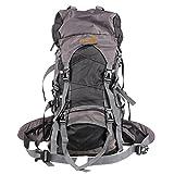 EocuSun 60L大容量 軽量 アウトドア スポーツバッグ キャンプ ハイキング リュック 旅行バックパック 登山用バッグ 多用途 トートバッグ ショルダーバッグ 男女兼用 (ブラック)