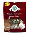 Oxbow Simple Rewards PAPAYA Medley Treats for Small Animals 2.5 oz