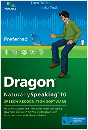 Dragon NaturallySpeaking Preferred 10.0 (PC DVD)