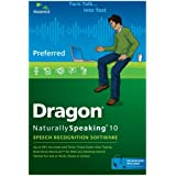 Dragon NaturallySpeaking Preferred 10.0 (PC DVD)by Nuance Communications,...