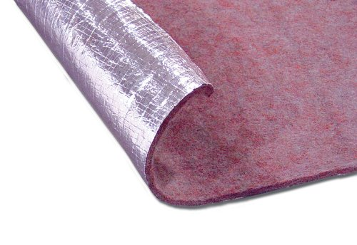 "Thermo-Tec 14120 48"" X 72"" One Sided Thermo Guard Flame Retardant"