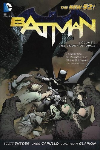 Batman Vol 1 The Court Of Owls The 52 at Gotham City Store