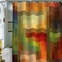DENY Designs Madart Maze of Colors Shower Curtain 69-Inch by 72-Inch