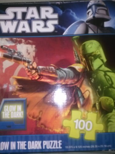 100 Pieces Star Wars Glow in the Dark Puzzle - 1
