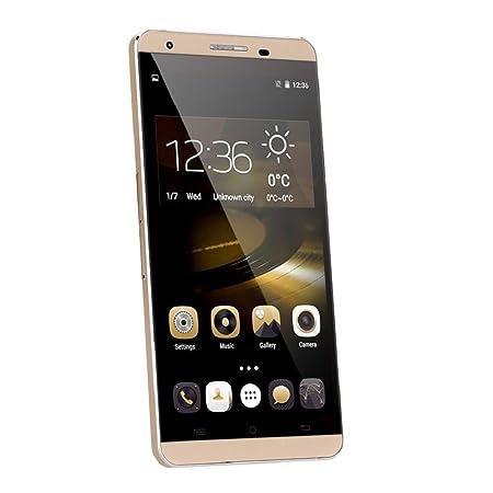 UBOT X15 5.5 inch Smartphone IPS FHD 4G FDD-LTE Android 5.1 MTK6735 64Bit Quad Core 2GB RAM 16GB ROM 5.0MP+13.0MP OTG/Hotknot 1920x1080 2750mAh Cell Phone (Gold)