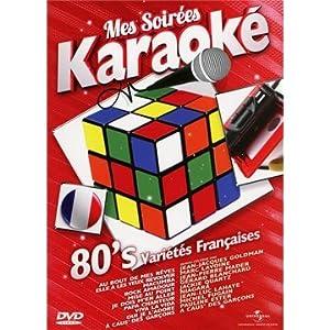 Mes Soirées Karaoké Années 80 (Chanson Française)