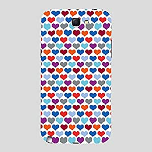 Back Cover for Samsung Galaxy Note 2 ABSTRACT BLUE