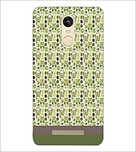 PrintDhaba Owl pattern D-1872 Back Case Cover for XIAOMI REDMI NOTE 3 (Multi-Coloured)
