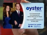 ROYAL WEDDING SPECIAL EDITION OYSTER CARD