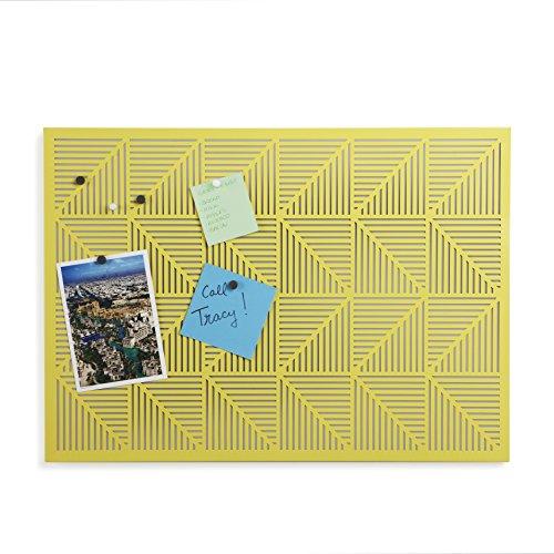 Umbra 470790-438 Trigon Pinnwand, gelb