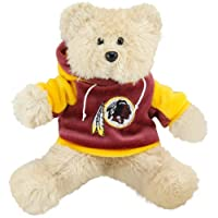 "Washington Redskins 8"" Fuzzy Hoody Bear from Forever Collectibles"