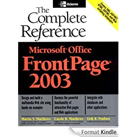 Microsoft Office FrontPage 2003: The Complete Reference