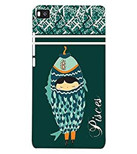 ColourCraft Zodiac Pisces Back Case Cover for HUAWEI P8