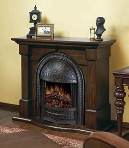 Dimplex Brockton Walnut Electric Fireplace Mantel Package Brockton Bw Space Heaters
