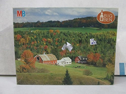 MB Big Ben Craftsbury, Vermont 1000 Pc. Jigsaw Puzzle - 1