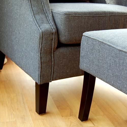 ohrenbackensessel montreux inkl hocker kissen. Black Bedroom Furniture Sets. Home Design Ideas