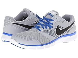 Nike Men's Flex Experience Rn 3 Wolf Grey/Blk/Hypr Cblt/White Running Shoe 8 Men US