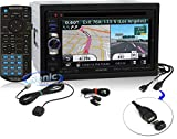 KENWOOD DNN770HD 6.1″ WVGA DOUBLE-DIN IN-DASH DVD RECEIVER WITH NAVIGATION & WI-FI [DNN770HD] -