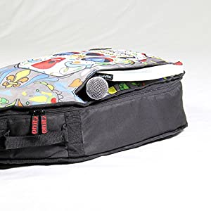 Phitz 3/4 Size Acoustic Guitar Case, Sugar Skull - PH26809PTA from Phitz, LLC