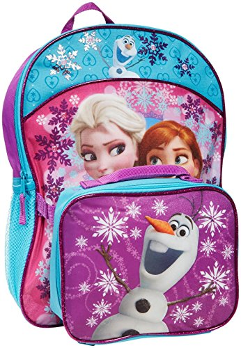 Fast-Forward-BackPack-with-Detachable-Lunch-Bag-Disney-Frozen