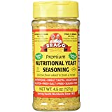 Bragg Nutritional Yeast Seasoning Premium 4.5 Ounce (Pack Of 3)