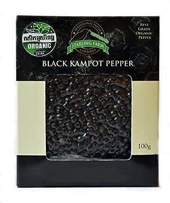 Schwarzer Kampot Pfeffer (organic / bio) von Starling Farm bei Gewürze Shop