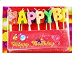 IBZ Happy Birthday Jelly Stick Candle