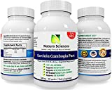 Naturo Sciences Garcinia Cambogia Extract Pure - 75% HCA - Ultra Slim Weight Management - Natural Appetite Suppressant and Weight Loss Supplement - Lose Belly Fat Fast - Read Below and Learn How to Naturally Lose Weight Without Feeling Like Youre on a Diet - 1000mg Per Serving, 30 Servings, 90 Capsules