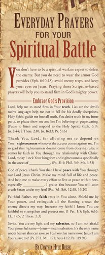 Everyday Prayers for Your Spiritual Battle 50-pack