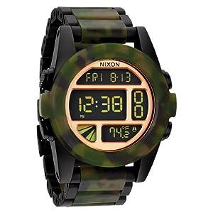 Reloj Nixon The Unit A3601428 Hombre Dorado