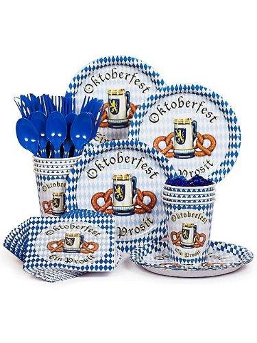 Oktoberfest Party Standard Tableware Kit Serves 8