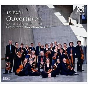 Js Bach Ouverturen Complete Orchestral Suites from Harmonia Mundi Classique