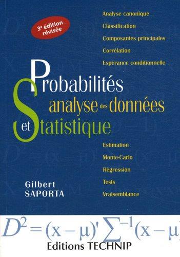 Télécharger Probabilites Analyse Des Donnes Et Statistique Livre