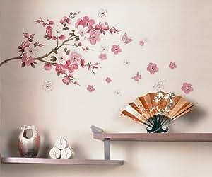 Wall decor removable decal sticker cherry for Amazon decoracion pared